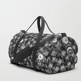 Chrome dumbbells Duffle Bag