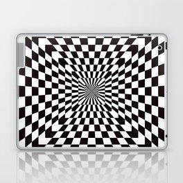 Checkered Optical Illusion Laptop & iPad Skin