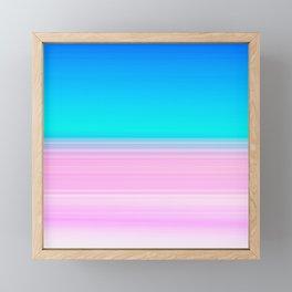Unicorn Ombre Framed Mini Art Print