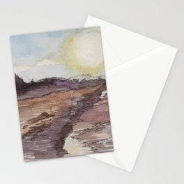 The Watery Sun Stationery Cards