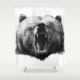 Bear HOBO Shower Curtain