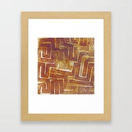 Aboriginal art Framed Art Print