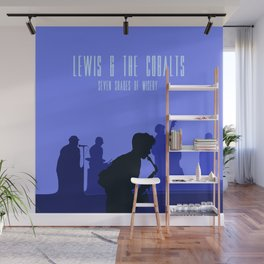 Lewis & the Cobalts Wall Mural