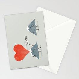 I Lava You Stationery Cards