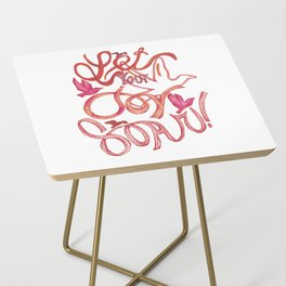 Let Your JOY Soar! Side Table