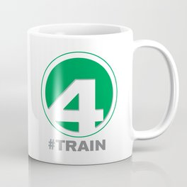 NY MTA Subway #4 Train Line Coffee Mug