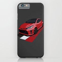 GR Yaris iPhone Case