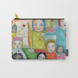 Heart Speak by kae pea Carry-All Pouch
