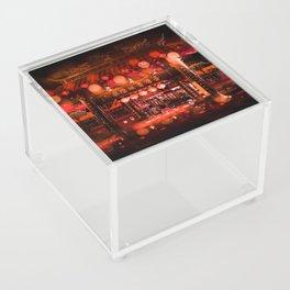 Bokeh Temple Acrylic Box