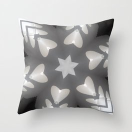 Hearts (from the arches in the Bom Jesus church complex in Old Goa) Throw Pillow