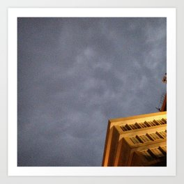 #28Photo #RainClouds #Abstact #VisualJournal Art Print