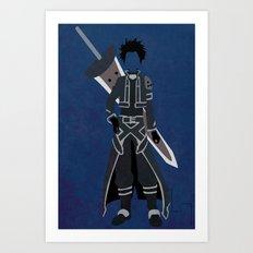 Kirito Alfheim Art Print