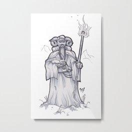Tim the Enchanter Metal Print