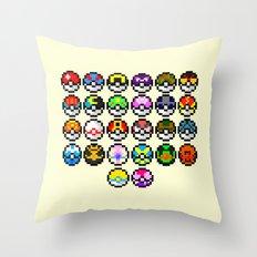 Gotta Catch'Em All Throw Pillow