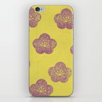 sakura iPhone & iPod Skins featuring Sakura by sinonelineman