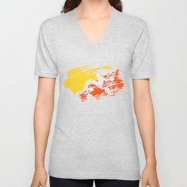 Bhutan Flag Shirt Unisex V-Neck