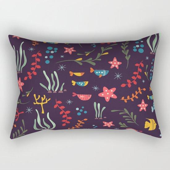 Sea creatures 005 Rectangular Pillow
