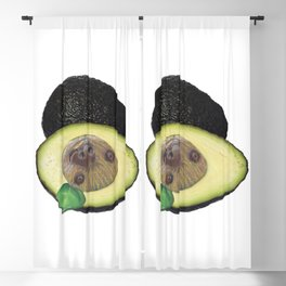 Slothvocado is a Sloth combined with an Avocado Blackout Curtain