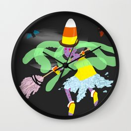 Gelatina the Candy Witch Wall Clock