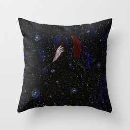 You were my universe Throw Pillow