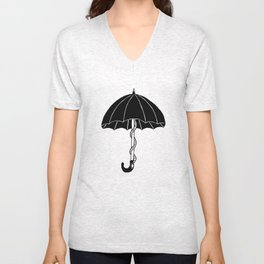 Secret parasol Unisex V-Neck
