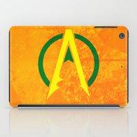 aquaman iPad Cases featuring Aquaman by Some_Designs