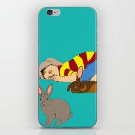 Bunny Boy iPhone Skin