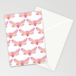 Summer Cicada – Pink Palette Stationery Cards