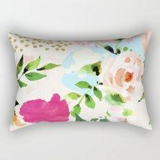 Floral Blush #society6 #decor #buyart Rectangular Pillow