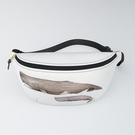 Sperm whale Fanny Pack