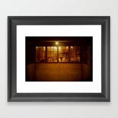 The Regulars Framed Art Print
