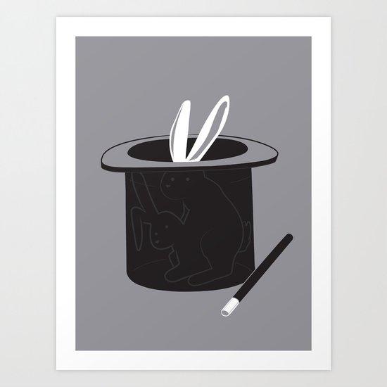 Magic Show Art Print