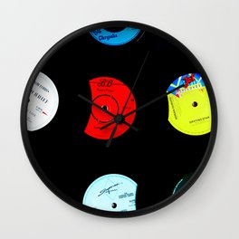 Vinyl Records Version 2 Wall Clock
