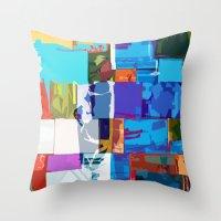 africa Throw Pillows featuring Africa by Fernando Vieira