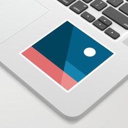 Geometric Landscape 08 Sticker