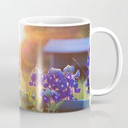 Sun Shining through the Bluebonnets Coffee Mug