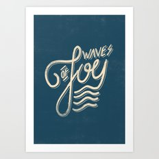 Waves of Joy Art Print