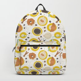 Coffee upper view Backpack