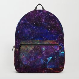 Rainbow Aura Quartz NebulÆ Backpack
