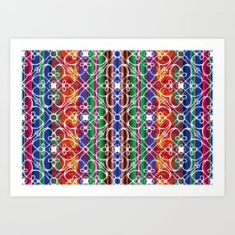 Mariposa Inka Art Print