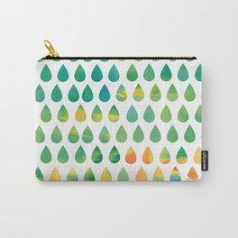 Monsoon Rain Carry-All Pouch
