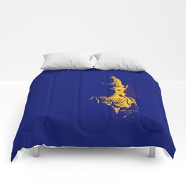 Indian Pop Art Comforters