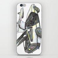 delorean iPhone & iPod Skins featuring DMC - Delorean by dareba