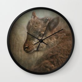 Soay Kid Wall Clock