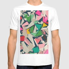 Fragments White MEDIUM Mens Fitted Tee