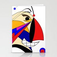 birdman Stationery Cards featuring Birdman by Charles Oliver