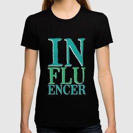 Influencer lettering | Social Media T-shirt