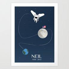 Goodbye Neil Art Print