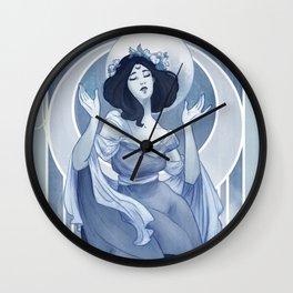 The High Priestess Wall Clock
