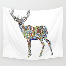 Third Eye Deer Wall Tapestry